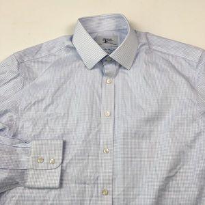 Charles Tyrwhitt Mens Dress Shirt 16.5/35 C6005
